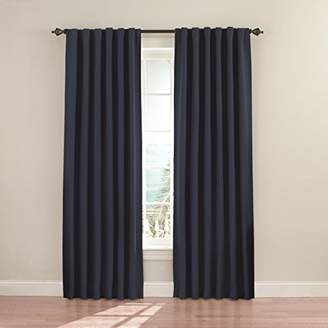 Eclipse Curtains Eclipse 11353052X084DKB Fresno 52-Inch by 84-Inch Blackout Single Window Curtain Panel
