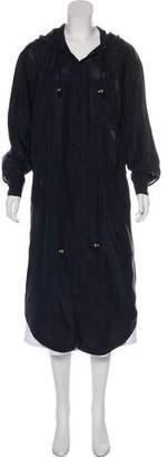 Mes Demoiselles Silk Figo Coat