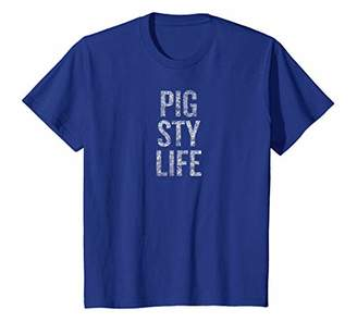 Pig Sty Life T-shirt   Clean Your Room Tee