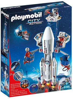 Playmobil City Action Space Rocket With Launch Site - 6195 $59.99 thestylecure.com