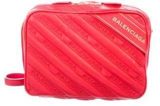 Balenciaga Blanket Reporter XS Crossbody Bag