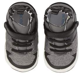 Robeez R) Zachary High Top Crib Sneaker