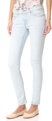 Levi's 711 Skinny Jeans $90 thestylecure.com