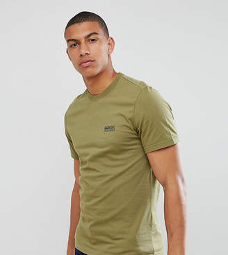 Barbour International Logo T-Shirt In Olive EXCLUSIVE
