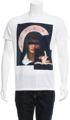 Givenchy Studded Madonna T-Shirt