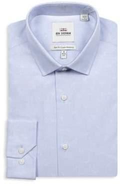 Ben Sherman Slim-Fit Long-Sleeve Cotton Dress Shirt
