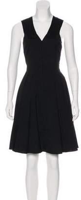 Derek Lam A-Line Pleated Dress