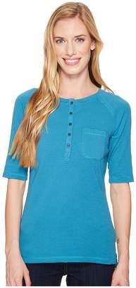 Royal Robbins Kickback Henley Women's Short Sleeve Pullover