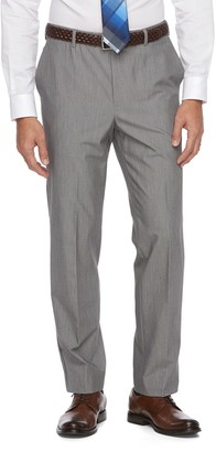 Croft & Barrow Big & Tall True Comfort 4-Way Stretch Classic-Fit Flat-Front Dress Pants