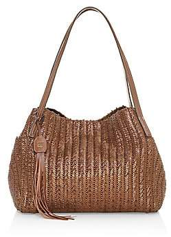 Eric Javits Women's Aura Woven Metallic Tote Bag
