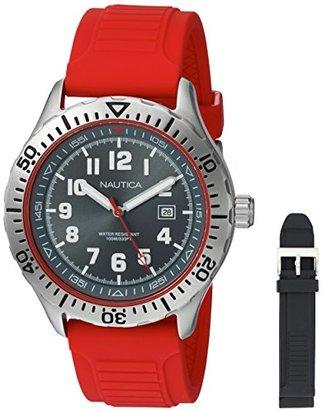 Nautica (ノーティカ) - Nautica Sports Red Strap Box Set NAD14004G