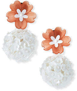 Sachin + Babi Fleur Drop Earrings