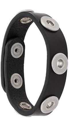 Diesel thin leather bracelet