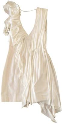 Jill Stuart White Cotton Dress for Women