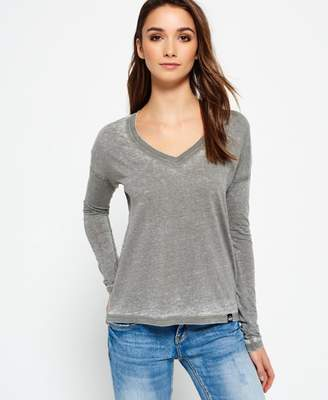 Superdry Burnout Vee Top