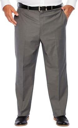 Jf J.Ferrar Gray Sharkskin Stretch Suit Pants - Big and Tall