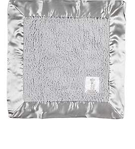 Little Giraffe Chenille Security Blanket-Silver