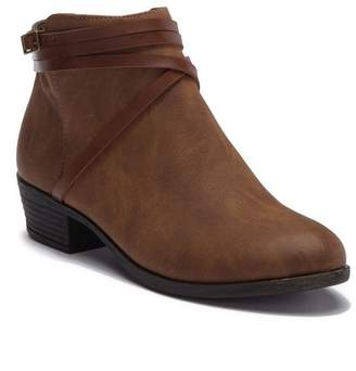 Madden-Girl Beenson Faux Leather Ankle Bootie