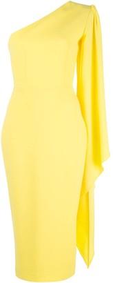 Alex Perry Finley one shoulder dress