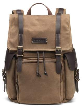 Trask 'Bridger' Waxed Canvas Backpack