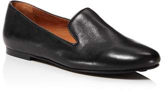Kenneth Cole Gentle Souls Women's Eugene Leather Smoking Slipper Flats