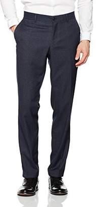 Esprit Men's Premium 037EO2B016 Suit Trousers, Blue (Navy), (Manufacturer Size: 44)