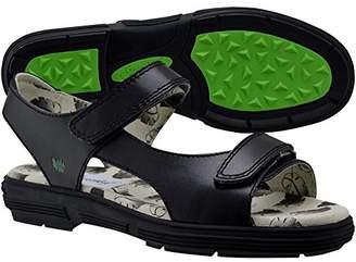 4b9192ec36d Black Two Strap Women s Sandals - ShopStyle