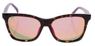 Just Cavalli Acetate Mirror Sunglasses