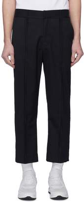 The World Is Your Oyster Reverse seam twill pants