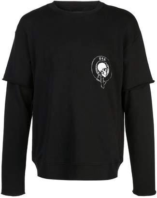 RtA 117 quilted sweatshirt