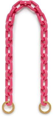 Mulberry Acetate Open Chain Strap Bright Pink Acetate