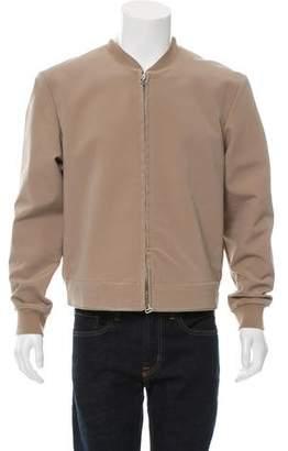 3.1 Phillip Lim Rib Knit-Trimmed Bomber Jacket