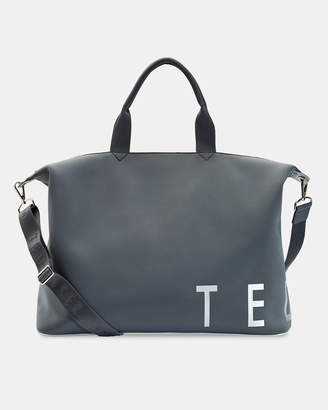 Ted Baker LAURE Branded neoprene large tote bag