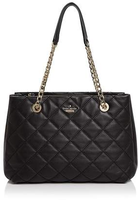 kate spade new york Emerson Place Allis Leather Tote $448 thestylecure.com