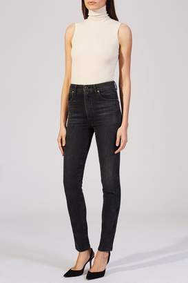 Khaite The Vanessa Jean In Vintage Black