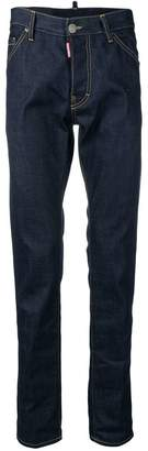 DSQUARED2 contrast stitch jeans