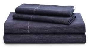 Lauren Ralph Lauren Luna Stripe 200 Thread Count Cotton Four-Piece Sheet Set