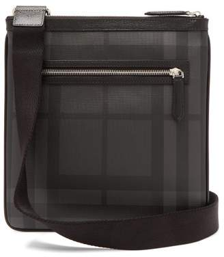 Burberry - London Check Cross Body Bag - Mens - Black Grey