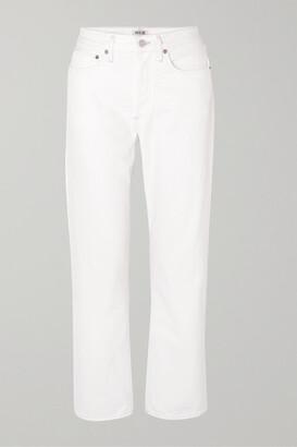 A Gold E Agolde AGOLDE - '90s High-rise Boyfriend Jeans - White