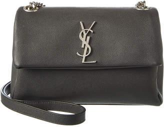 Saint Laurent Small West Hollywood Leather Shoulder Bag