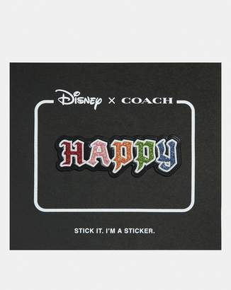 Coach Disney X Happy Sticker