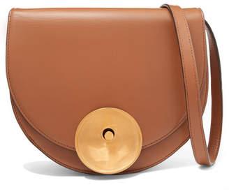 Marni Monile Leather Shoulder Bag - Tan