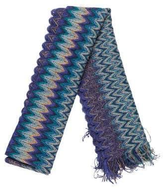 Missoni Chevron Open Knit Scarf