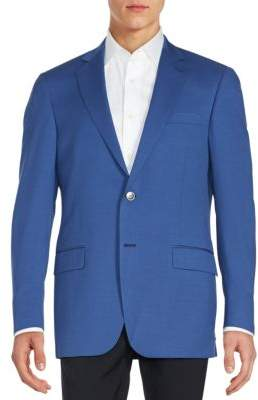 Worsted Wool Sportcoat $595 thestylecure.com