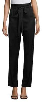 Donna Karan Tie-Waist Pants