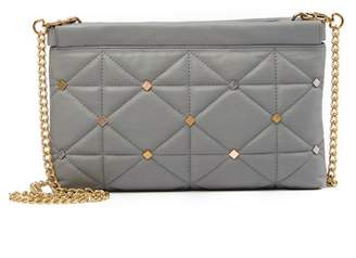 Anne Klein \nFacile Quilted Leather Crossbody Bag