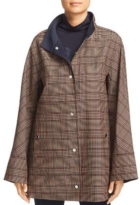 Lafayette 148 New York Carlton Lightweight Plaid Jacket - 100% Exclusive