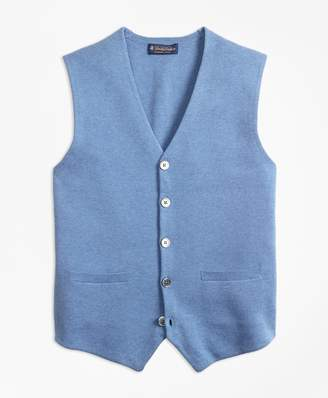 Brooks Brothers Supima Cotton Sweater Waistcoat