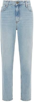 Sandro Straight High-Waisted Jeans