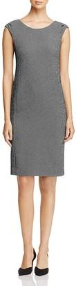 Armani Collezioni Checkered Sheath Dress $895 thestylecure.com